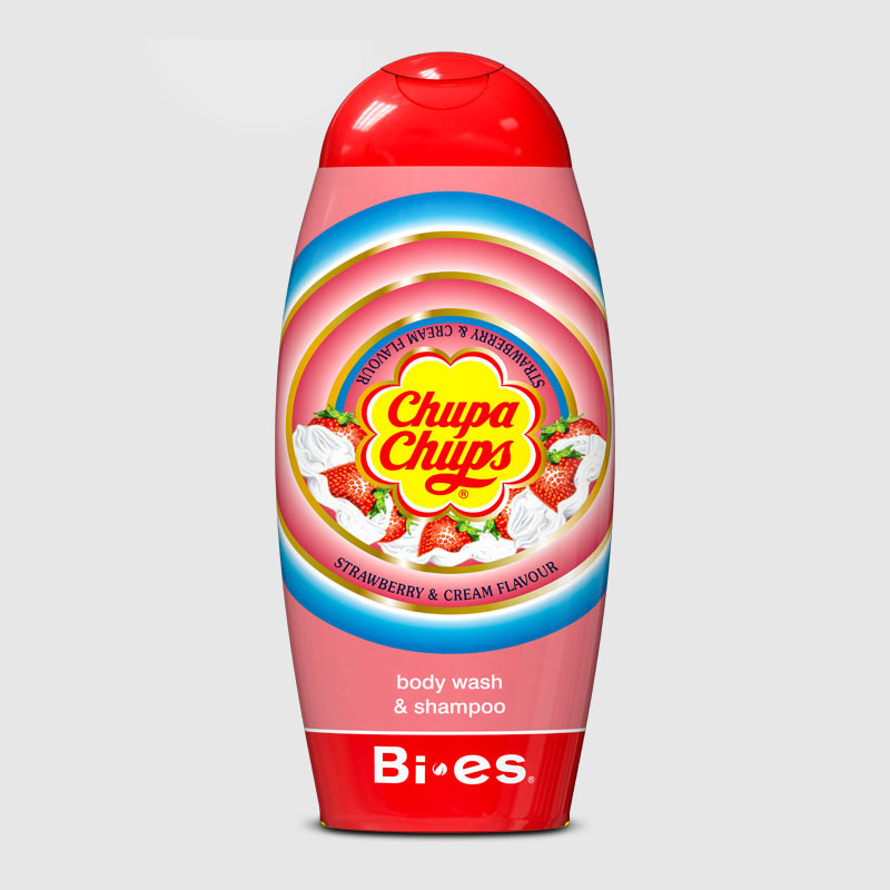 Body Wash&Shampoo Chupa Chups STRAWBERRY&CREAM