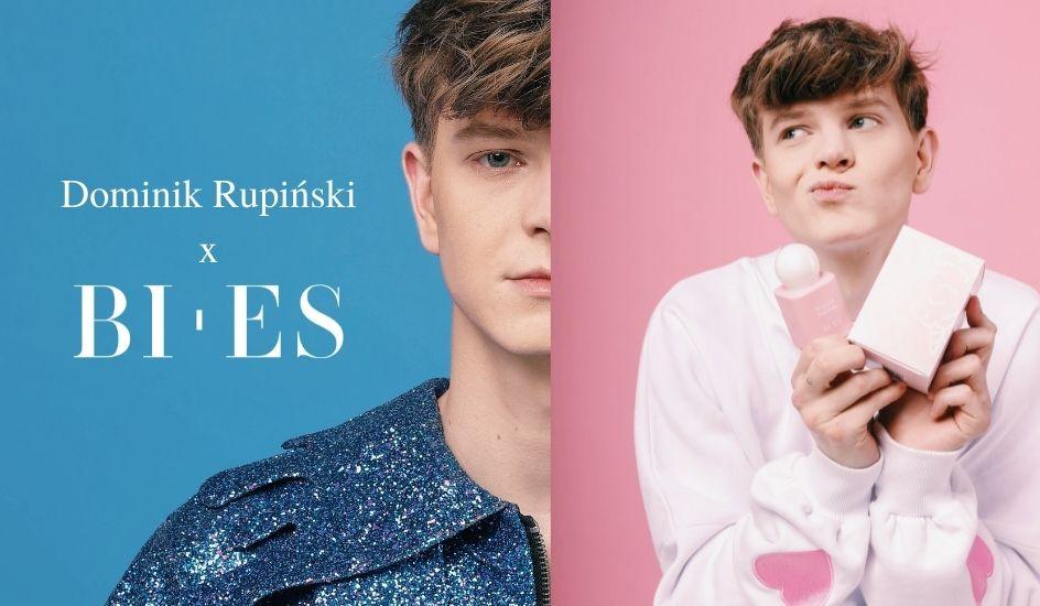 Dominik Rupiński x BI-ES perfumy
